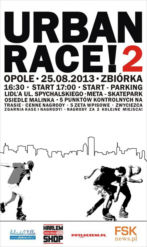 Urban Race 2 w Opolu!